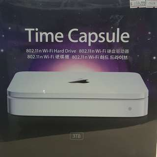Apple Time Capsule 3TB - 802.11n WiFi Hard Drive - (BRANDNEW SEALED)