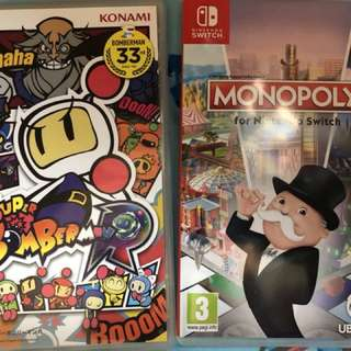 Switch Monopoly &SuperBomberman R
