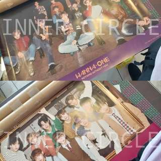 Official Wanna One Nothing Without You Album Poster