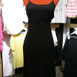 Black Dress with spaghetti strap