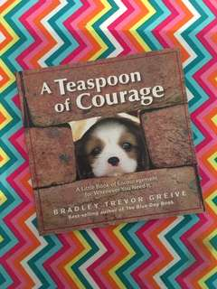 Charity Sale! A Teaspoon of Courage by Bradley Trevor Greive book