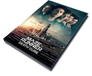 MAZE RUNNER THE DEATH CURE OFFICIAL MOVIE PREMIUMS #HUAT50Sale