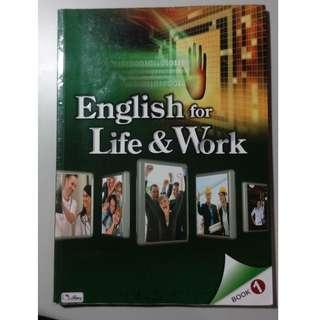 English for Life&Work 英文課本 五專 高中