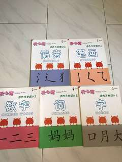 BN Chinese writing books