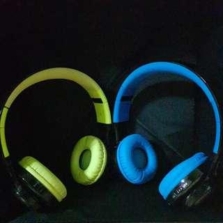 Bluetooth Wireless LED Marquee Headphones