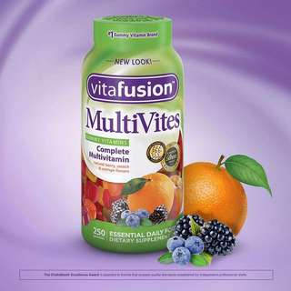 vitafusion MultiVites Multivitamin, 250 Gummies
