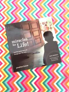 Charity Sale! Miracle of Life by Jonathan Krause book