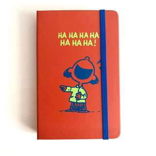 Moleskine Snoopy Peanuts 2018 diary limited edition