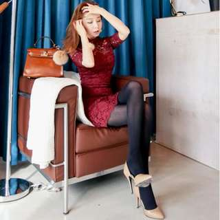 Feminine Lace Dress (PO)