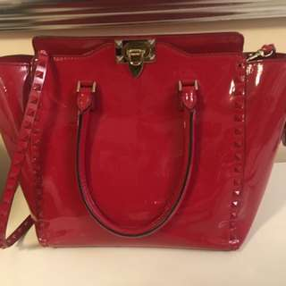 Authentic Valentino rockstud handbag