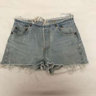 Reworked Levi Shorts