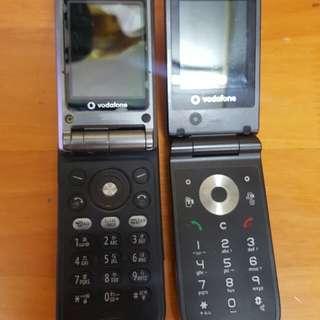 9000 SHARP Vodafone 720 & 703 手機 $50