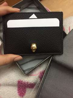 Authentic brand new Alexander McQueen card holder