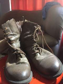 Lucky Combat Boots