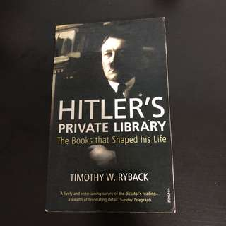 Book sale - Hitler's Private Library