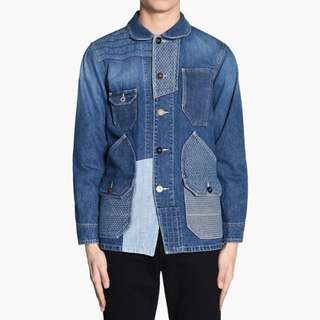 FDMTL Patchwork Denim Jacket