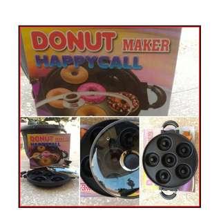 Cetakan Kue Donut Maker Anti lengket Teflon Berkualitas