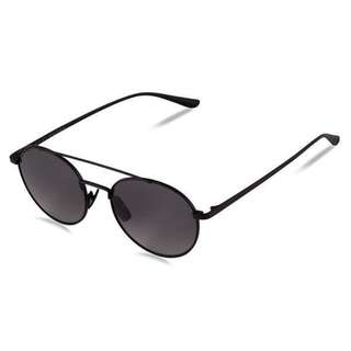 Bailey Nelson Black Dallas Titanium Sunglasses