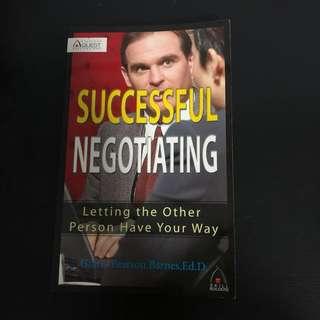 Book sale - Successful Negotiating