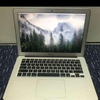 """MacBook Air 13"""" 8gb 2013 model"""