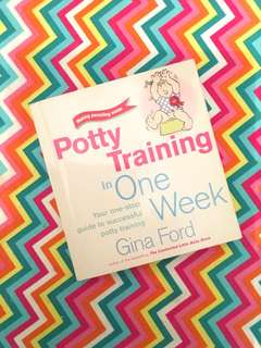 Charity Sale! Potty Training in One Week by Gina Ford book