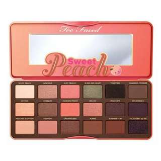 💄 Inspired Too Faced Sweet Peach Eyeshadow Palette