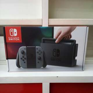 Nintendo Switch Set (Gray)(Local Set)(12 Months Local Warranty)