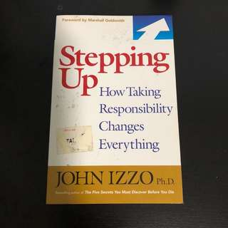 Book sale - Stepping Up