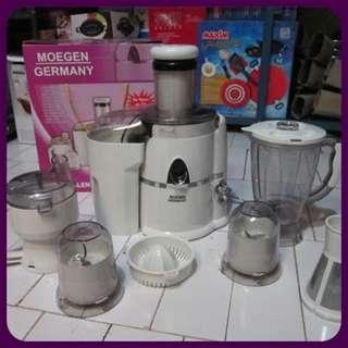 Blender Juicer 7 in 1 Moegen Germany Murah Like Kitchen Queen Lejel