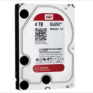 BNIB WD Red 4TB NAS HDD