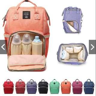 Mummy Bag Maternity Nappy Diaper Bag Large Capacity Backpack