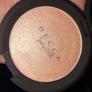 Brand New In Box, Never Swatched, BECCA x JACLYN HILL - Champagne POP Pressed Highlighter