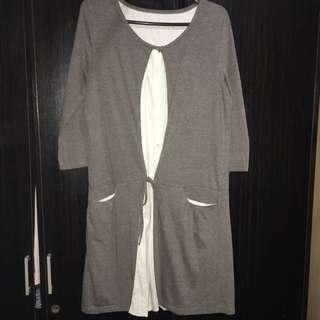 VF 138 brown elbow sleeve dress 👗