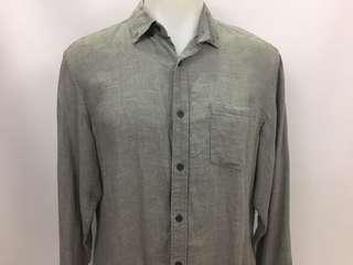 NWT Banana Republic 100% linen Camden Fit Shirt Mens Size M