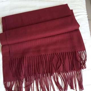 全新羊絨圍巾