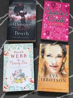 Brand new novels story books