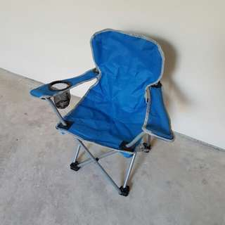 Kid's Foldable Chair, Blue