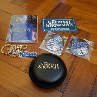 Greatest showman official merchandise