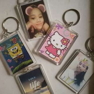 Personalized Photo Keychain