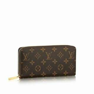 Louis Vuitton Zippy Monogram Wallet