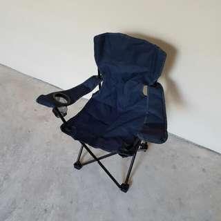 Kid's Foldable Chair, Dark Blue