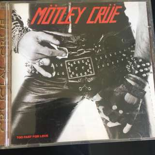 Motley crue - too fast for love cd