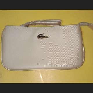 Lacoste clutch bag wallet