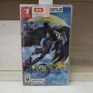 Switch Bayonetta 2
