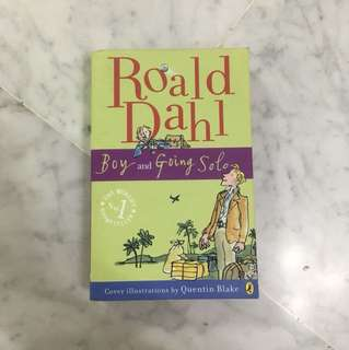 "Roald Dahl ""Boy"" and ""Going Solo"""