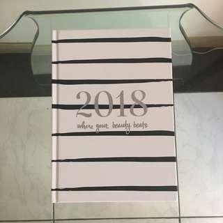 2018 Sephora Notebook, with calendar