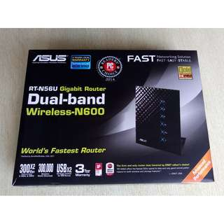 Asus RT-N56U wireless N-600 router