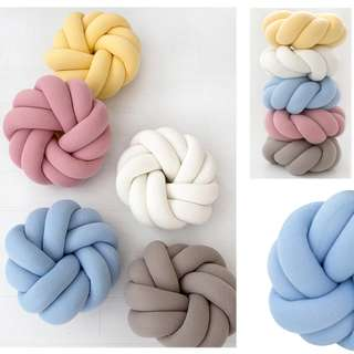 Oversized Knot Cushion