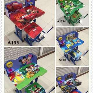 Kids character table