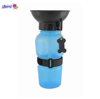 Dog water feeding bottle